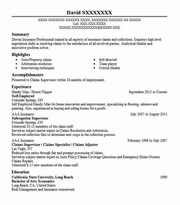 self employed resume example owner of cleaning business