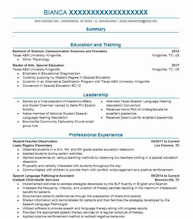 audiologist resume example creel hearing center mandeville