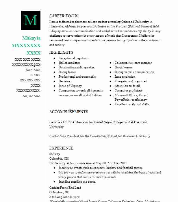 attorneys and lawyers resume examples legal resumes livecareer