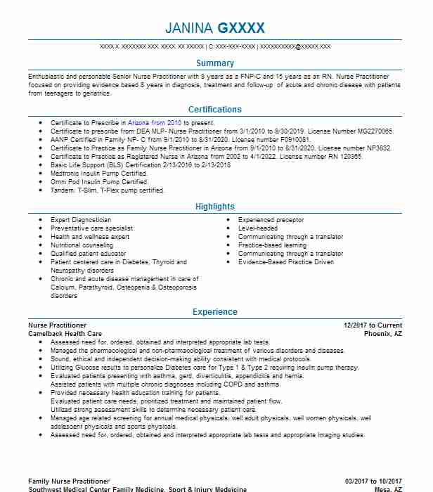 Flash animator resume
