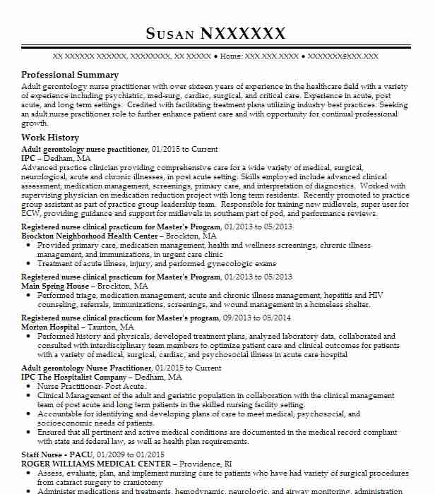 adult nurse practitioner resume example spinal and skeletal pain medicine and rehabilitation