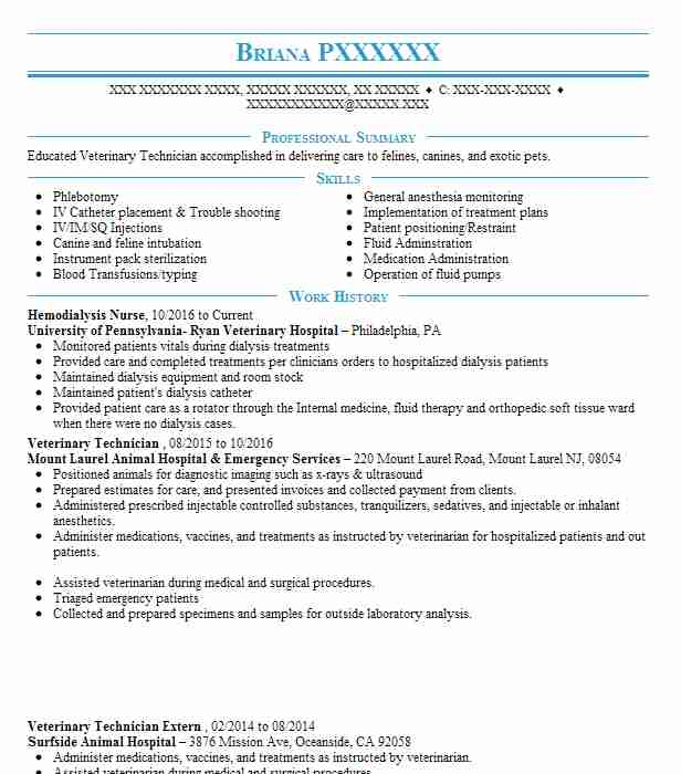 hemodialysis nurse resume sample