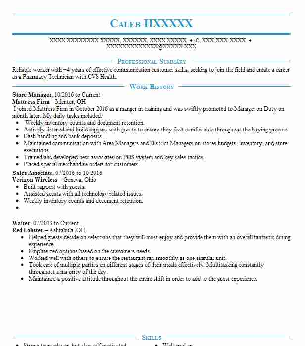 department manager resume example coles supermarket