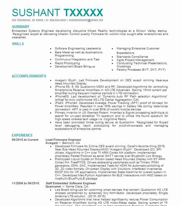 Top Engineering Resume  Systems Engineer Resume