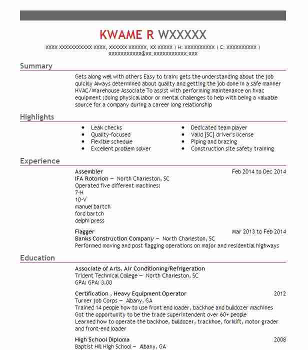 find resume examples in hollywood  sc