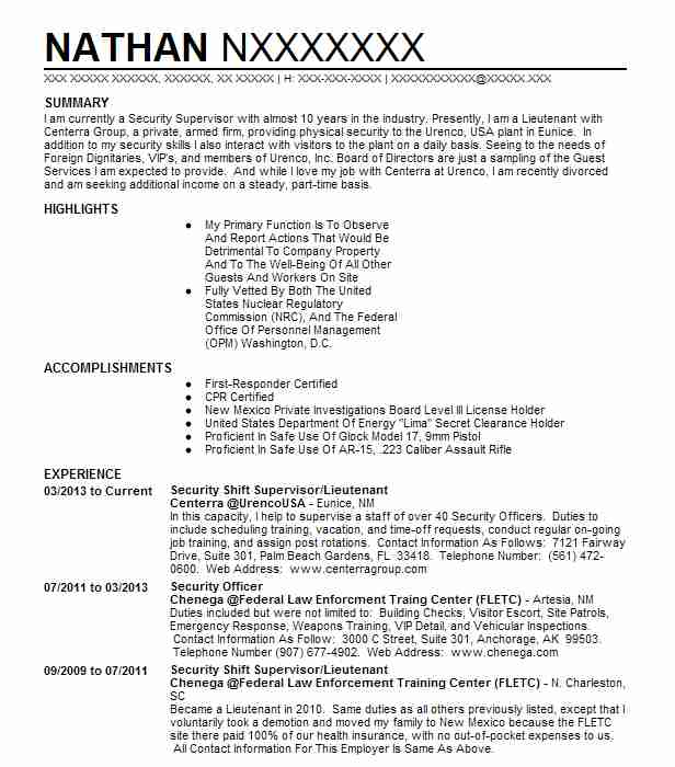 Find Resume Examples in Eunice, NM | LiveCareer