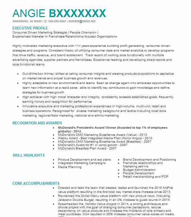 Director Of Marketing Communications Resume Example The Ups Store