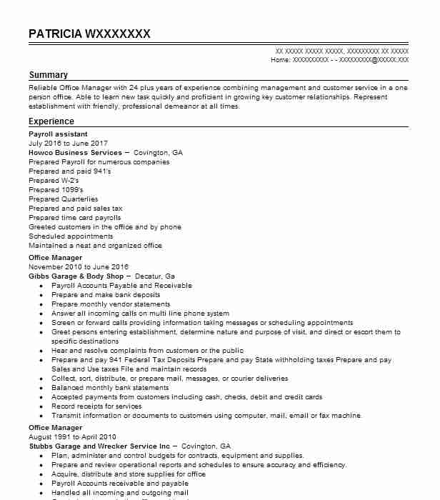 Create My Resume  Coffee Shop Resume