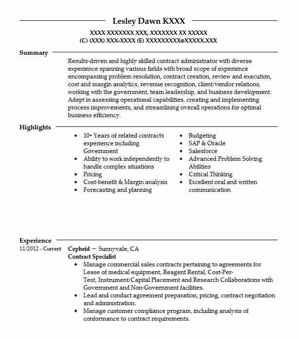 administrator resume samples - Salesforce Admin Resume