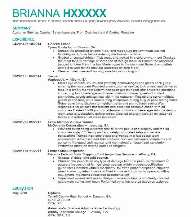 general labor resume objectives resume sample
