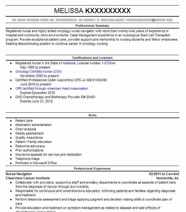 Labor And Delivery Nurse Resume Sample | Nursing Resumes | LiveCareer