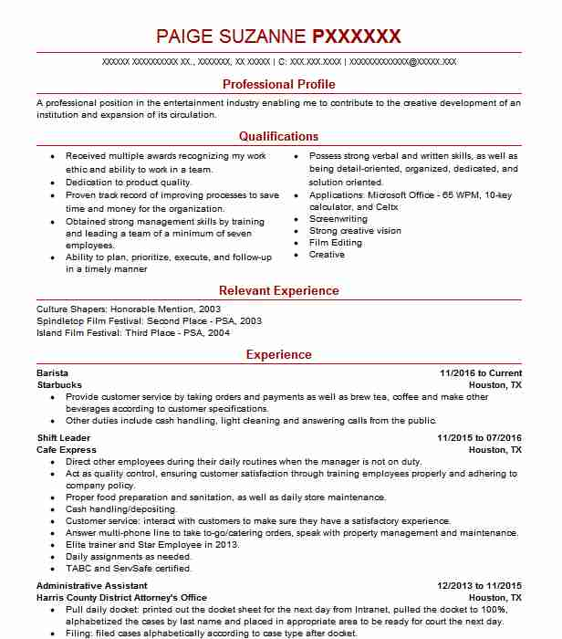 similar resumes - Resume Examples For Job