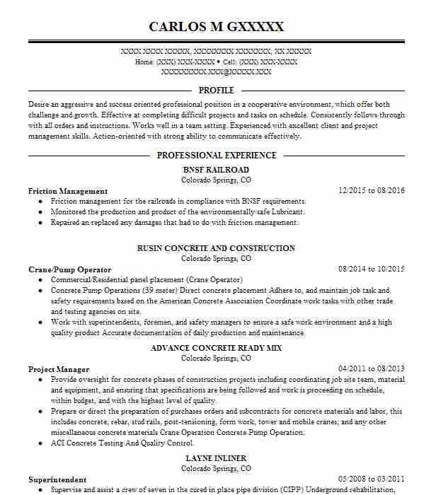 similar resumes - Safety Coordinator Resume