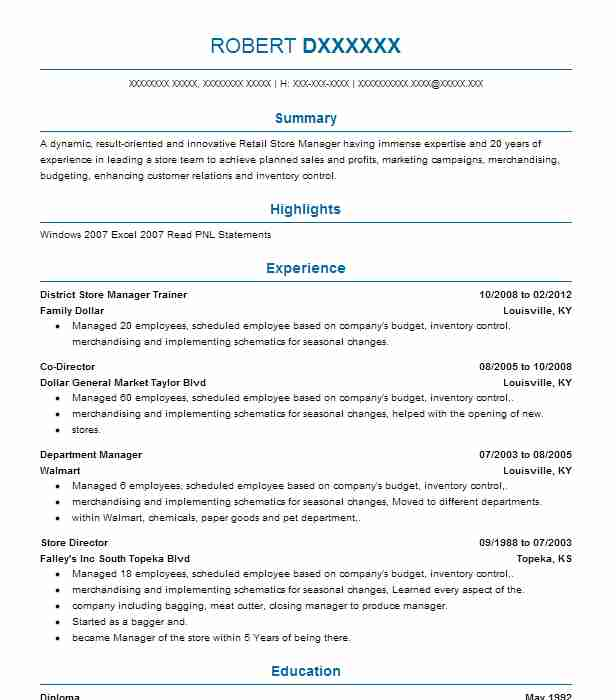 Find Resume Examples in Yukon, OK | LiveCareer