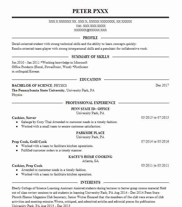 Engineer 4 Resume Example Northrop Grumman, Aerospace Systems - Los