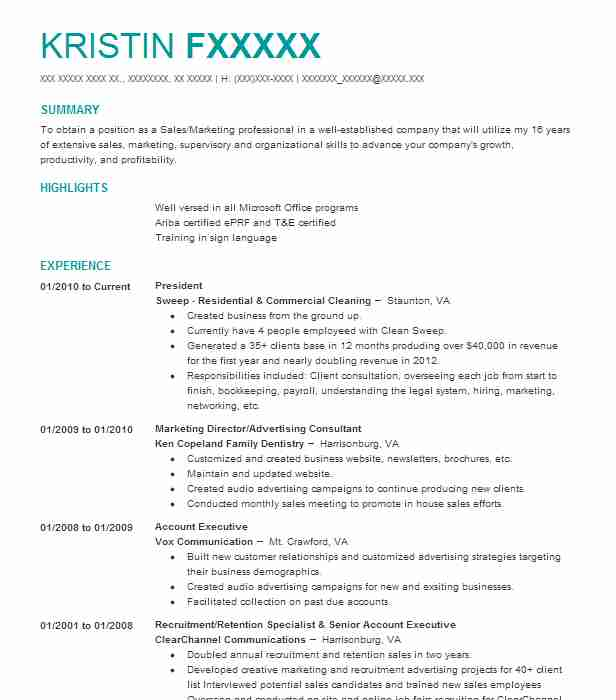 180 Brand Management Resume Examples in Virginia | LiveCareer