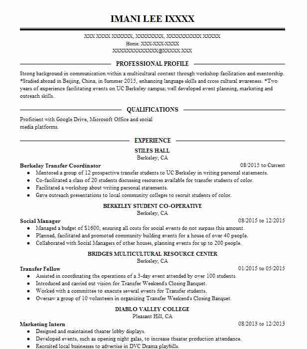 Stage Management Resume Examples  Performing Arts Resumes