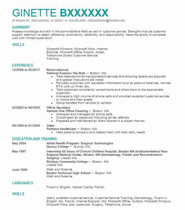 Create My Resume  Resume For Cosmetologist