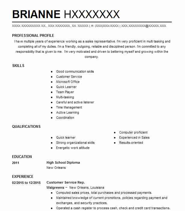 Post Office Resume Examples In Louisiana  Livecareer