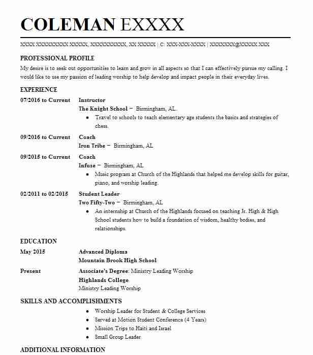 similar resumes - Resume Example Dance Teacher