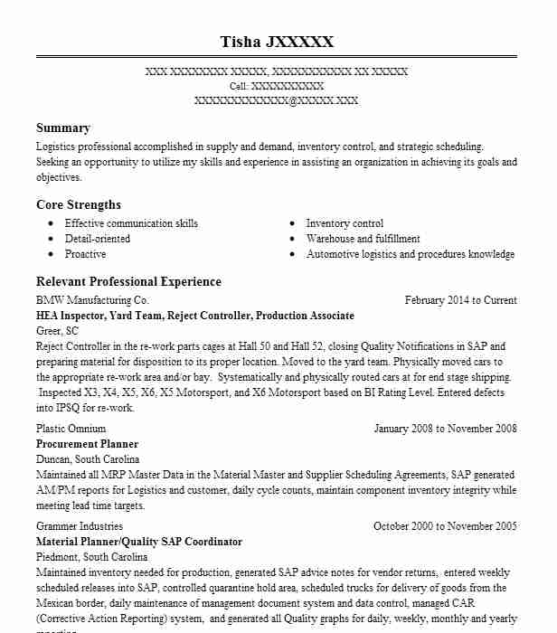 Aircraft Production Controller, GS09 Step 00 Resume