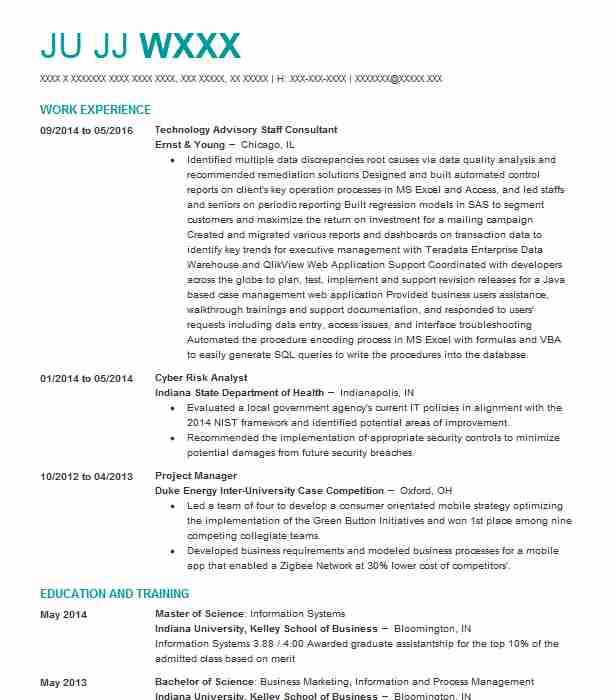 63 It Consulting Resume Examples in Nevada | LiveCareer