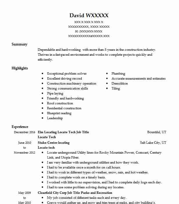 683 construction trades construction resume examples in utah top construction trades construction resume malvernweather Images