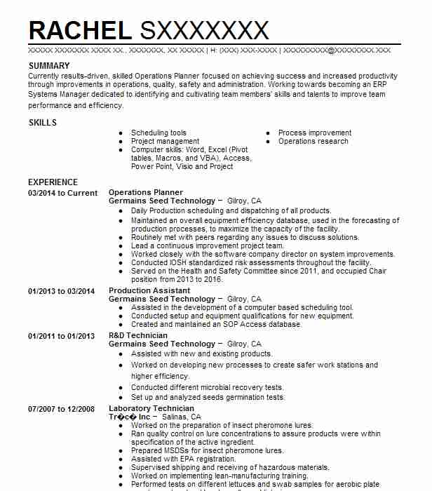 senior food scientist resume example compact industries ind