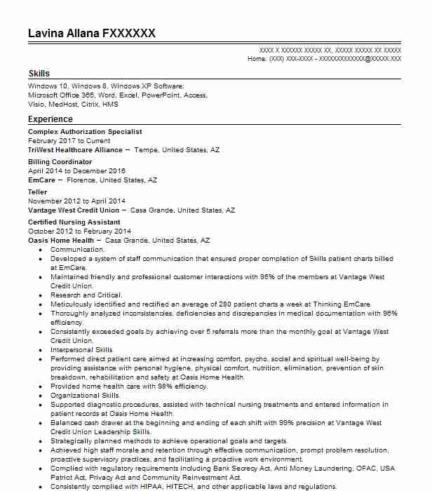22341 fitness and recreation resume examples samples livecareer