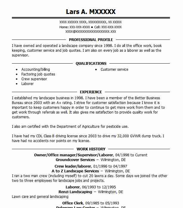 30 Post Office Resume Examples In Delaware Livecareer