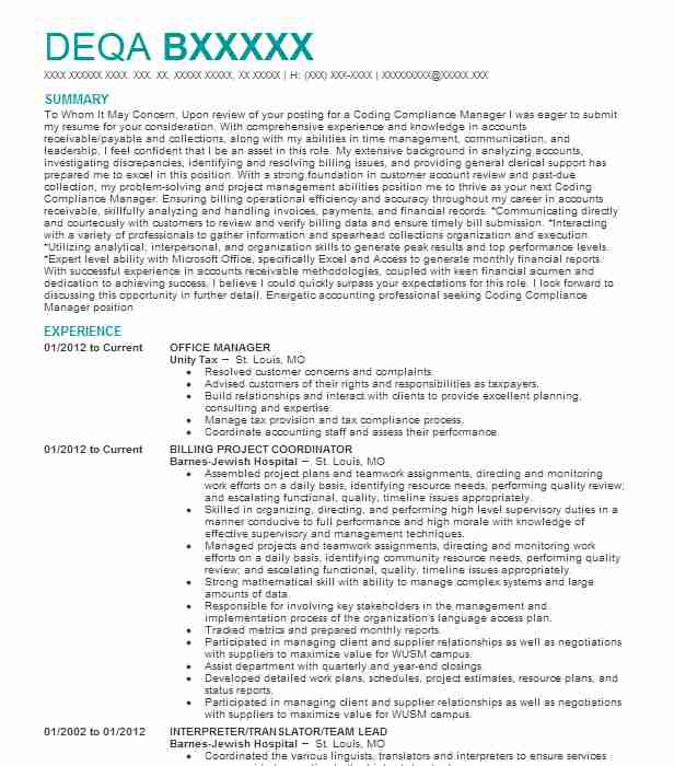 best office manager resume example
