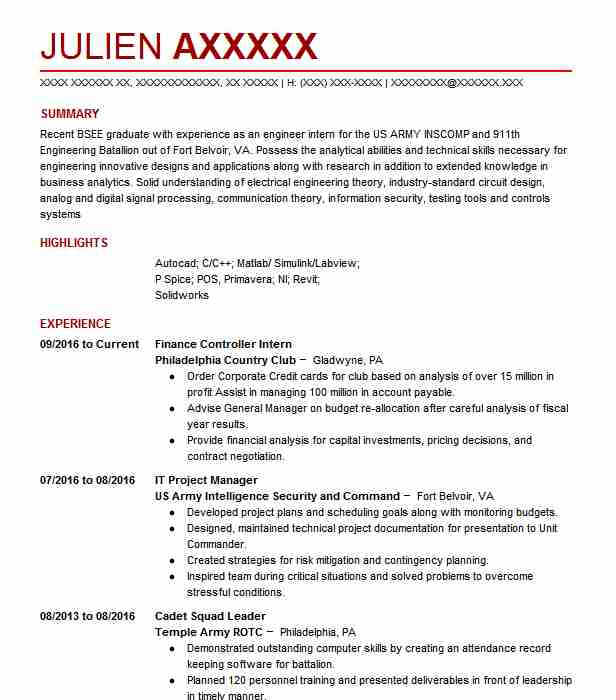 977 Electrical And Electronic Engineers (Engineering) Resume ...