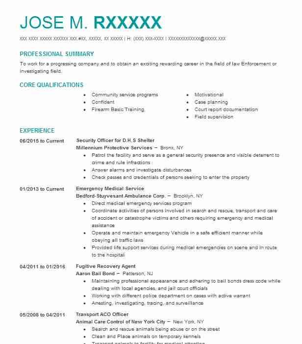 Similar Resumes  Community Service Resume