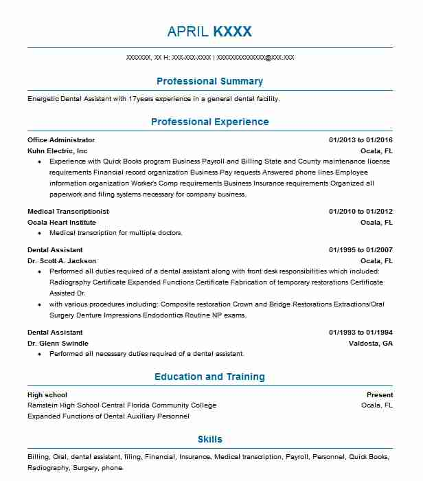 Best Office Administrator Resume Example Livecareer