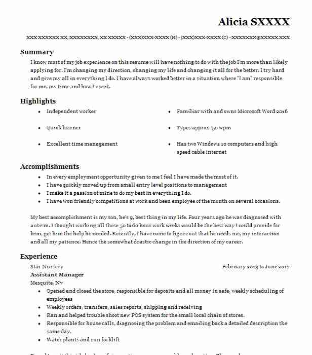 24 Court Reporting Resume Examples In Nevada Livecareer