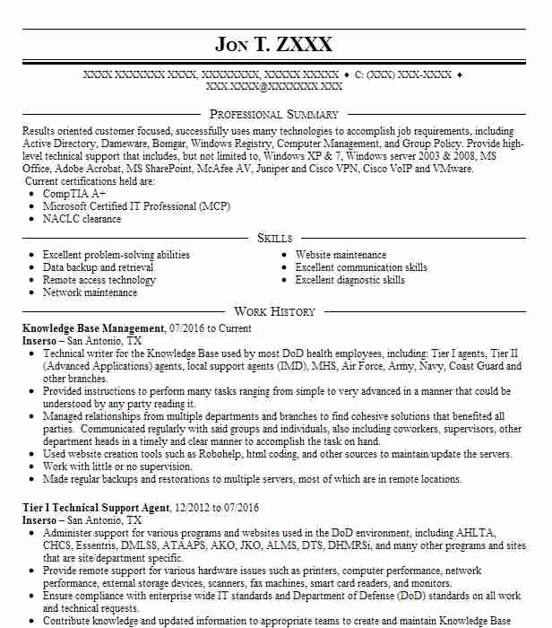 knowledge operations management resume example united