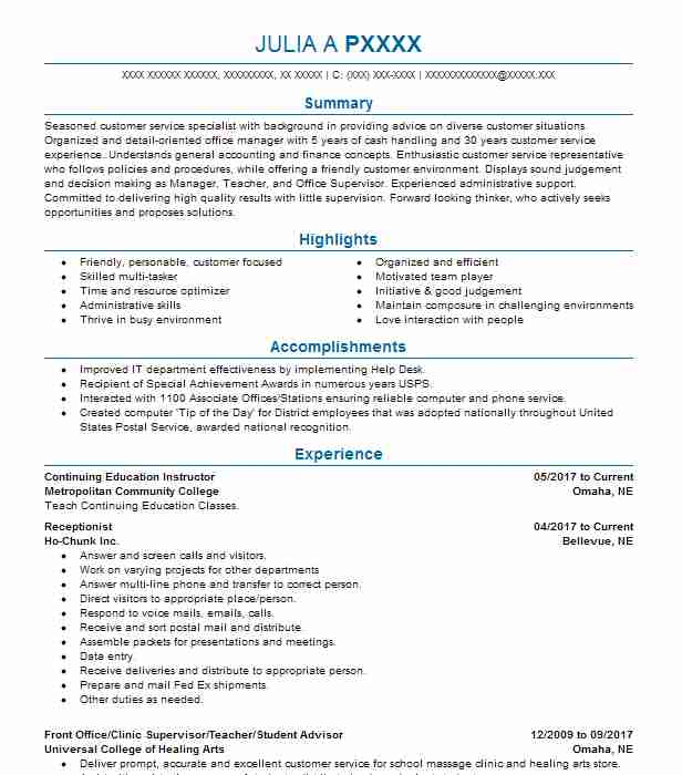 create my resume - Academic Advisor Resume