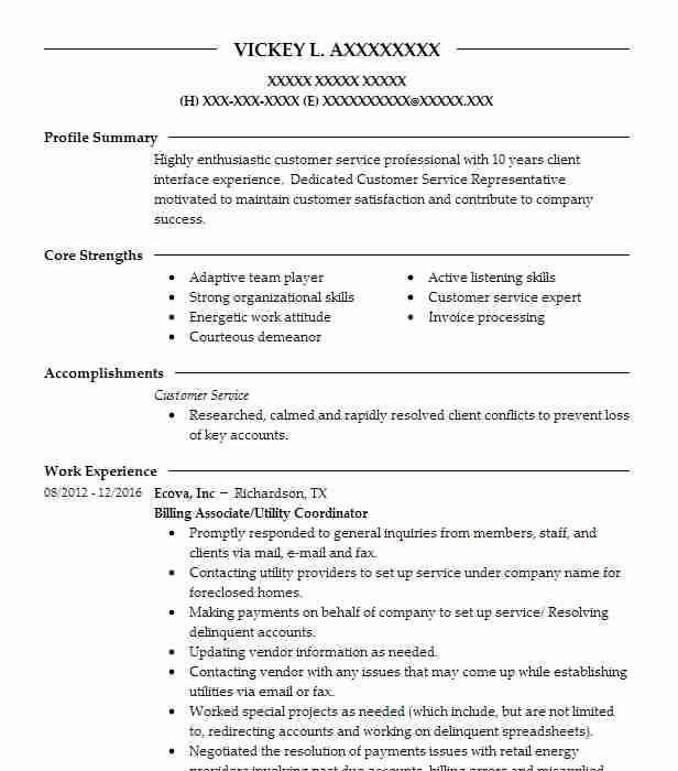medical claims and billing specialist resume sample livecareer