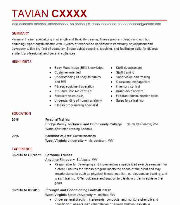 Strength and conditioning coach resume sample livecareer create my resume altavistaventures Images