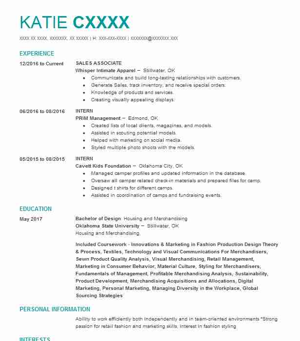 Similar Resumes In Beauty Advisor Resume