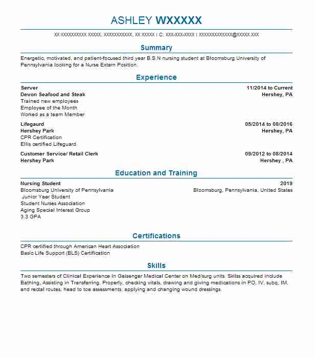Find Resume Examples in Hummelstown, PA | LiveCareer