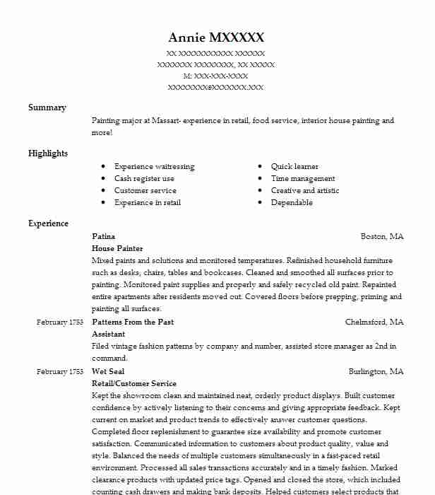 Assistant Home Manager Resume Example  Community Bridges