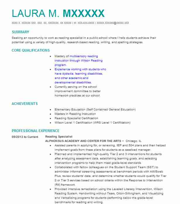 37 Credentialing Specialist Resume Examples In Illinois Livecareer