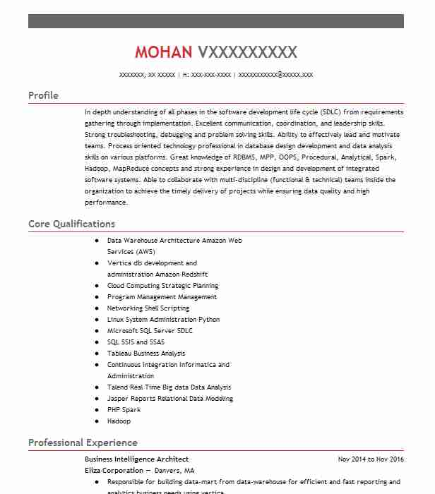 Etl Tester Resume Sample