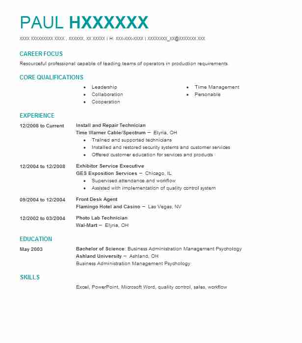 identity services specialist resume example northeastern university