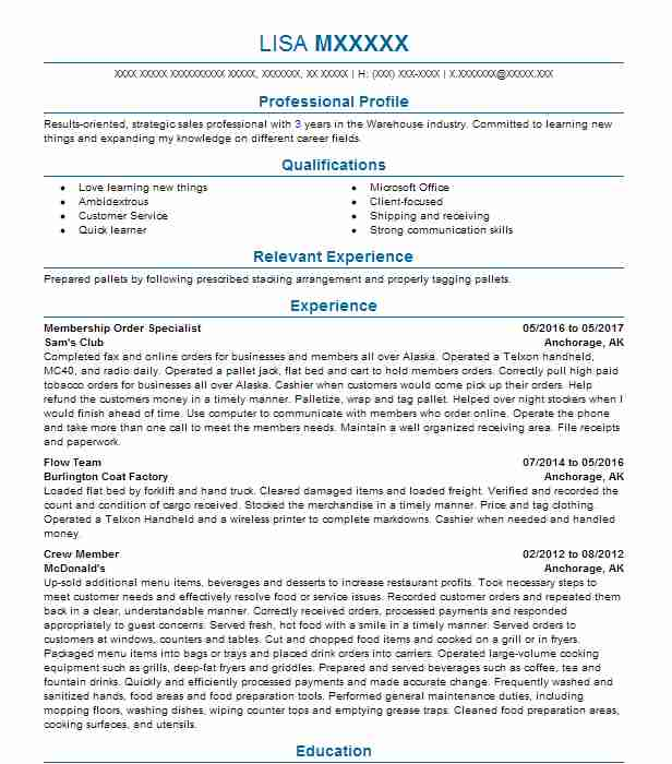 Post Resume Free: Supervisor Resume Example (USPS)