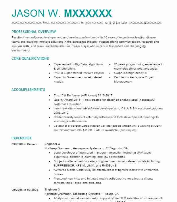 Experienced Mechanical Engineer Resume Sample | LiveCareer