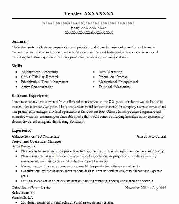 Usps Resume Mail Delivery Professional Resume Templates