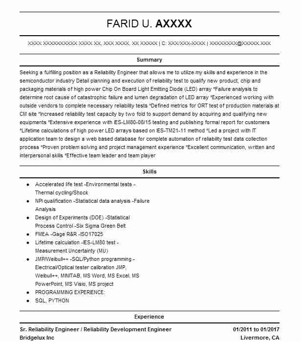 Technical Lead And Informatica Developer Resume Example - Jersey