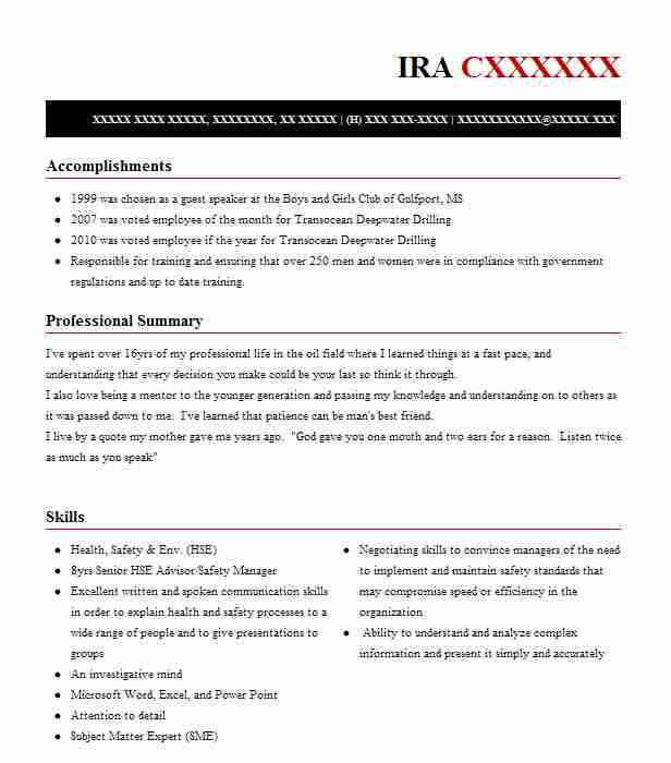 49 Consulting (Business) Resume Examples in Mississippi | LiveCareer